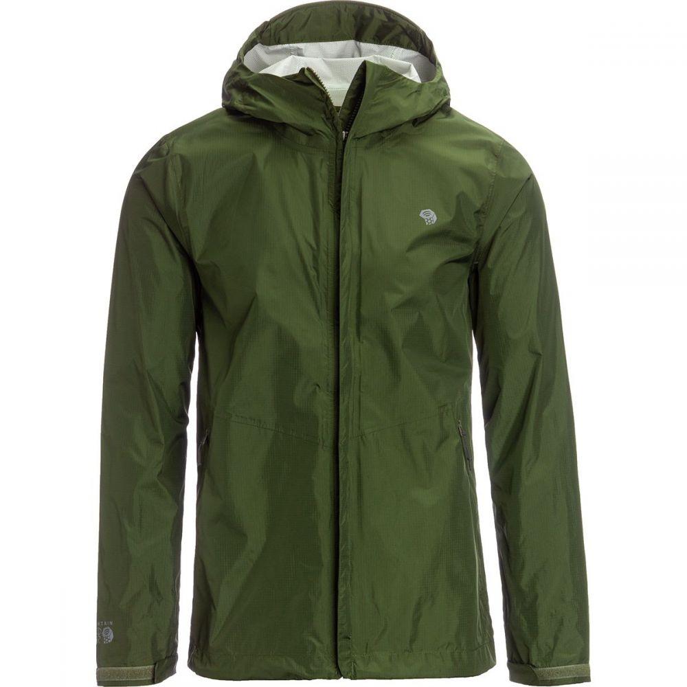 マウンテンハードウェア Mountain Hardwear メンズ アウター レインコート【Acadia Jackets】Dark Army