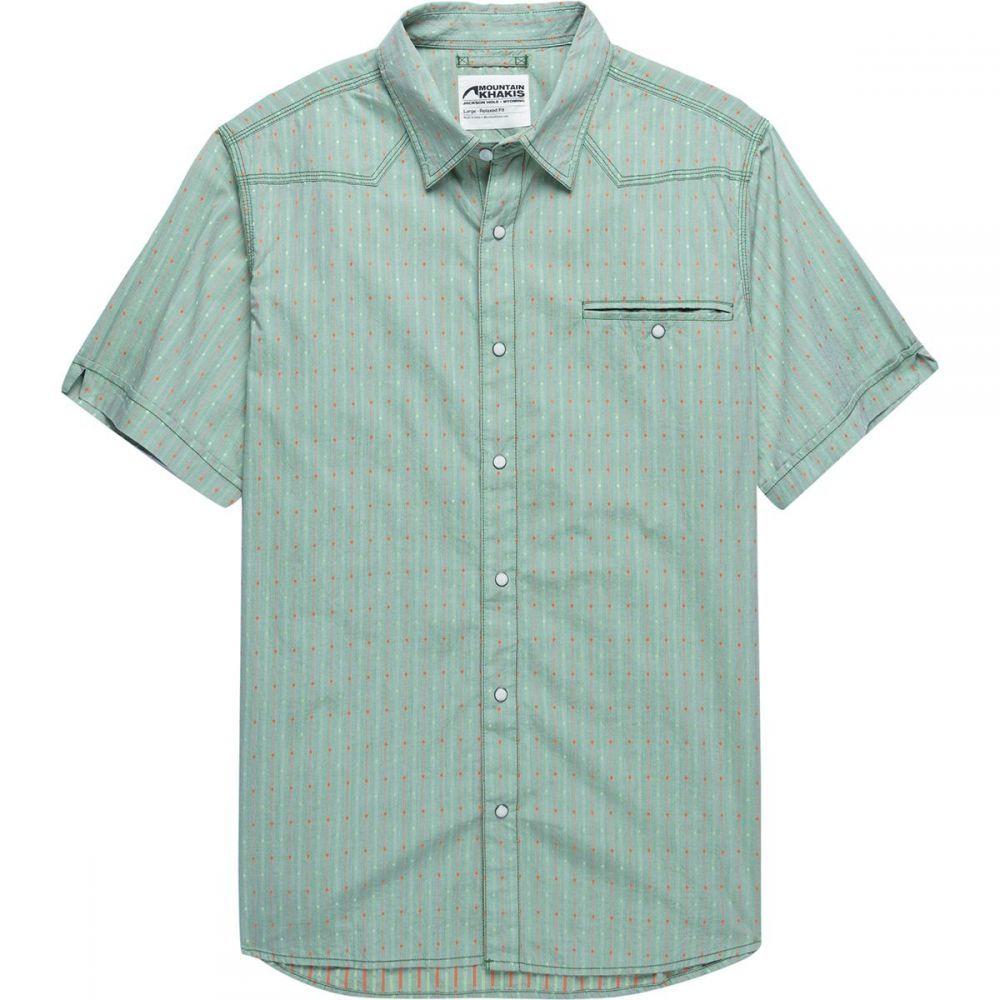 マウンテンカーキス Mountain Khakis メンズ トップス 半袖シャツ【El Camino Short - Sleeve Shirts】Fairway