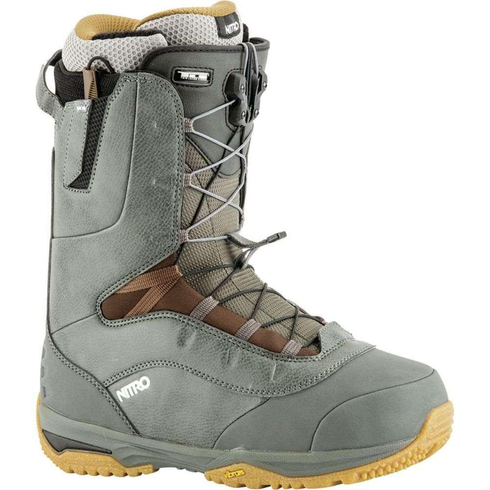 ニトロ Nitro メンズ スキー・スノーボード シューズ・靴【Venture TLS Pro Snowboard Boots】Charcoal