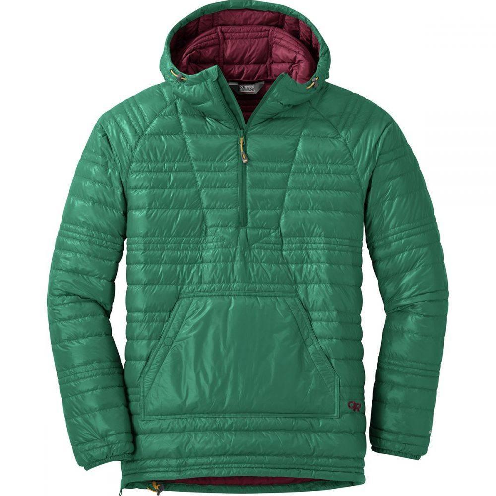 アウトドアリサーチ Outdoor Research メンズ アウター ダウン・中綿ジャケット【Down Baja Pullover Jackets】Hemlock/Zin