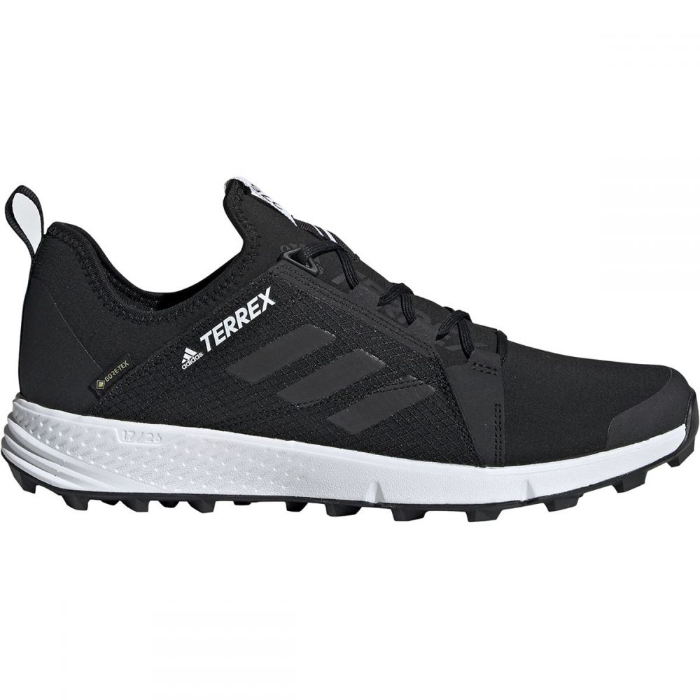 アディダス Adidas Outdoor メンズ ランニング・ウォーキング シューズ・靴【Terrex Agravic Speed GTX Trail Running Shoes】Black/Black/White
