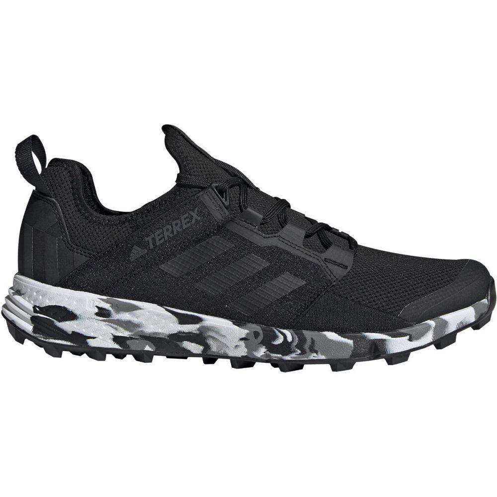 アディダス Adidas Outdoor メンズ ランニング・ウォーキング シューズ・靴【Terrex Agravic Speed Plus Trail Running Shoes】Black/Non-dyed/Carbon
