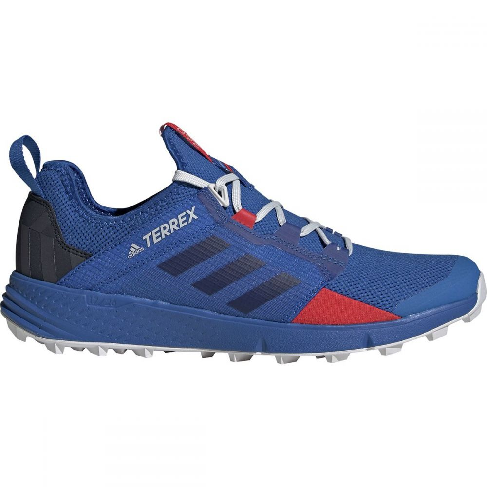 アディダス Adidas Outdoor メンズ ランニング・ウォーキング シューズ・靴【Terrex Agravic Speed Plus Trail Running Shoes】Blue Beauty/Legend Ink/Active Red