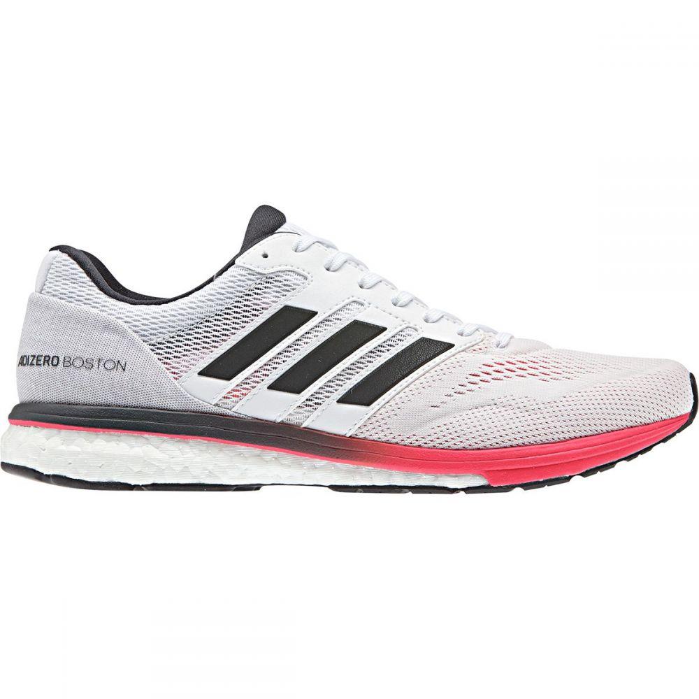 アディダス Adidas メンズ ランニング・ウォーキング シューズ・靴【Adizero Boston 7 Running Shoes】Footwear White/Carbon/Shock Red