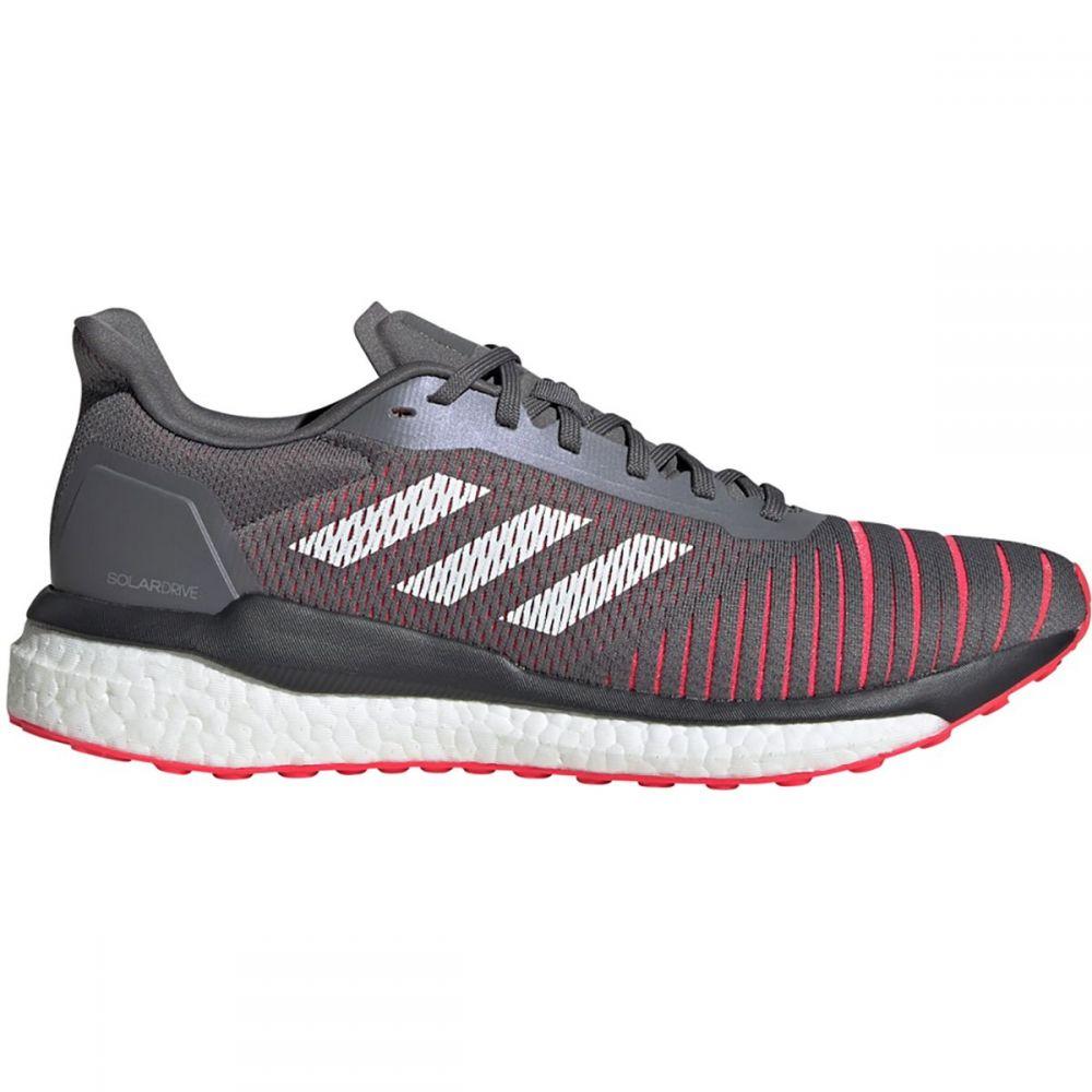 アディダス Adidas メンズ ランニング・ウォーキング シューズ・靴【Solar Drive Running Shoes】Grey Four F17/Footwear White/Shock Red