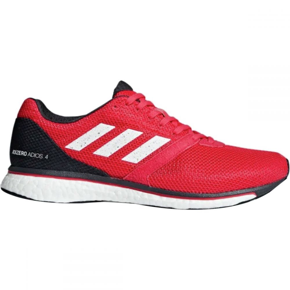 アディダス Adidas メンズ ランニング・ウォーキング シューズ・靴【Adizero Adios 4 Boost Running Shoes】Active Pink/Footwear White/Carbon