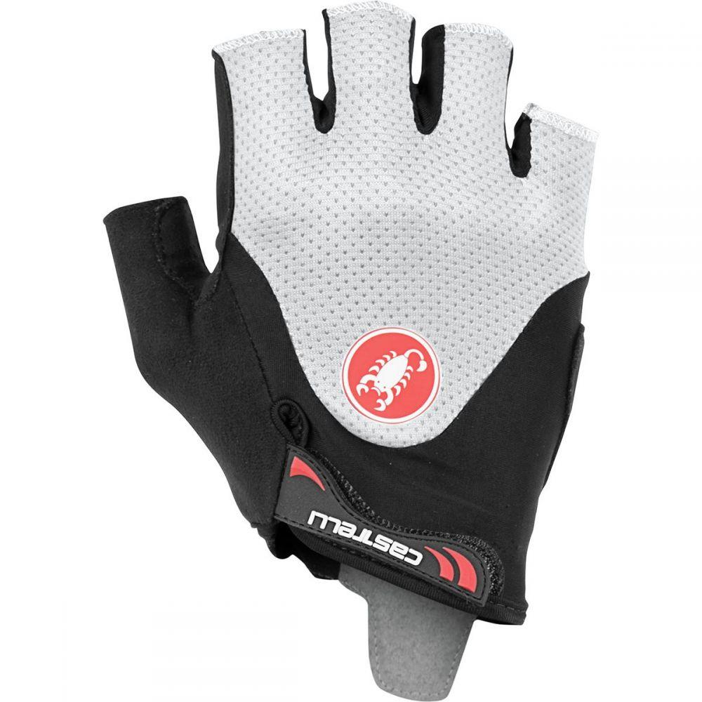 カステリ Castelli メンズ 自転車 グローブ【Arenberg Gel 2 Gloves】Black/Ivory