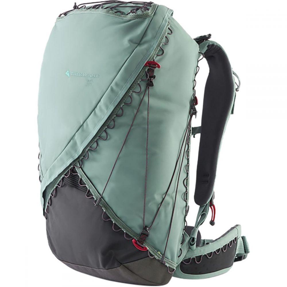 クレッタルムーセン Klattermusen メンズ バッグ バックパック・リュック【Gna 33L Backpack】Brush Green/Raven