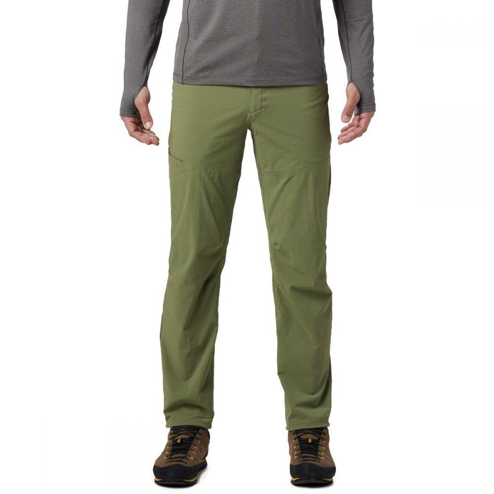 マウンテンハードウェア Mountain Hardwear メンズ ハイキング・登山 ボトムス・パンツ【Logan Canyon Pants】Light Army
