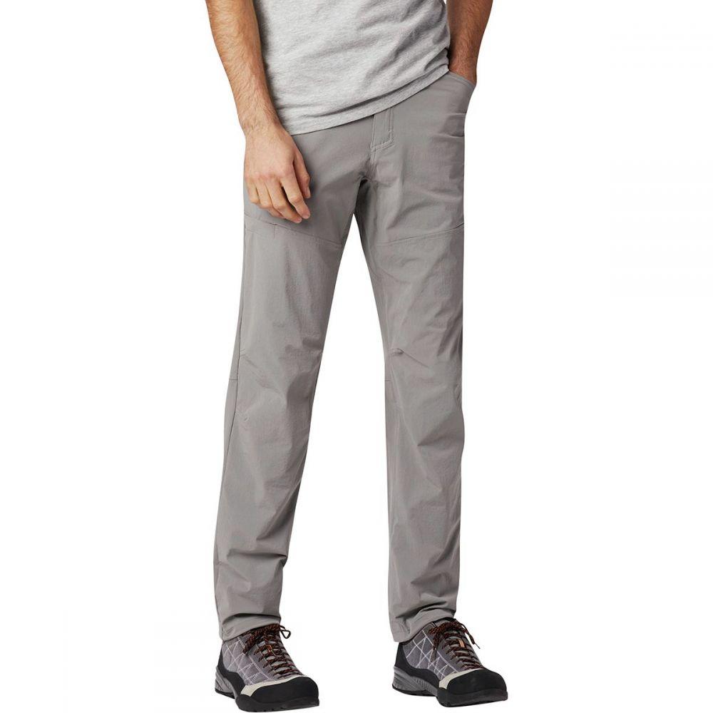 マウンテンハードウェア Mountain Hardwear メンズ ハイキング・登山 ボトムス・パンツ【Logan Canyon Pants】Manta Grey