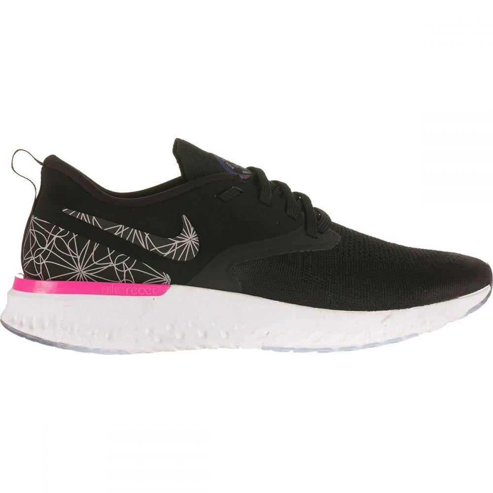 ナイキ Nike メンズ ランニング・ウォーキング シューズ・靴【Odyssey React Running Shoes】Black/Black-Refelctive Silver