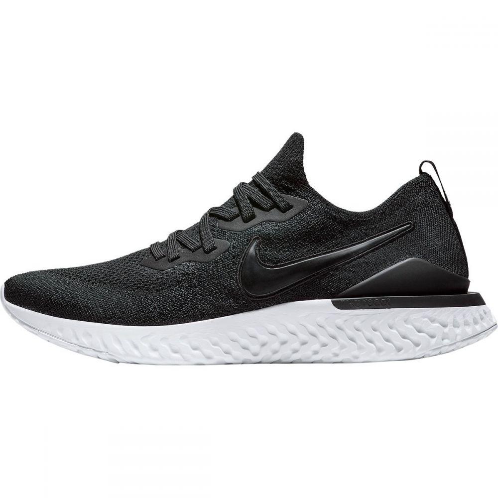 ナイキ Nike メンズ ランニング・ウォーキング シューズ・靴【Epic React Flyknit 2 Running Shoes】Black/Black-Gunsmoke