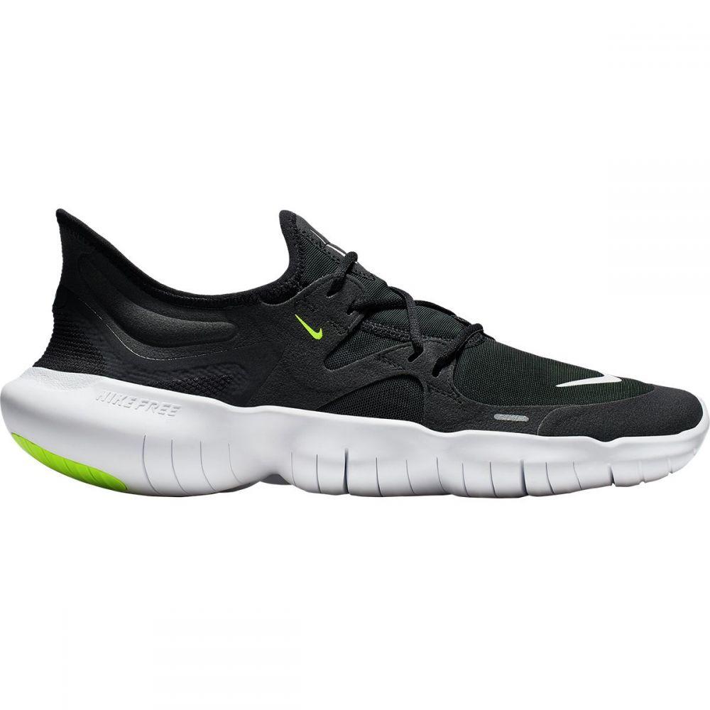 ナイキ Nike メンズ ランニング・ウォーキング シューズ・靴【Free RN 5.0 Running Shoes】Black/White-anthracite-volt