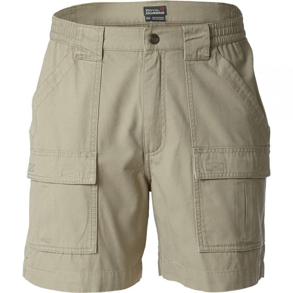 ロイヤルロビンズ Royal Robbins メンズ ボトムス・パンツ ショートパンツ【Bluewater Shorts】Khaki