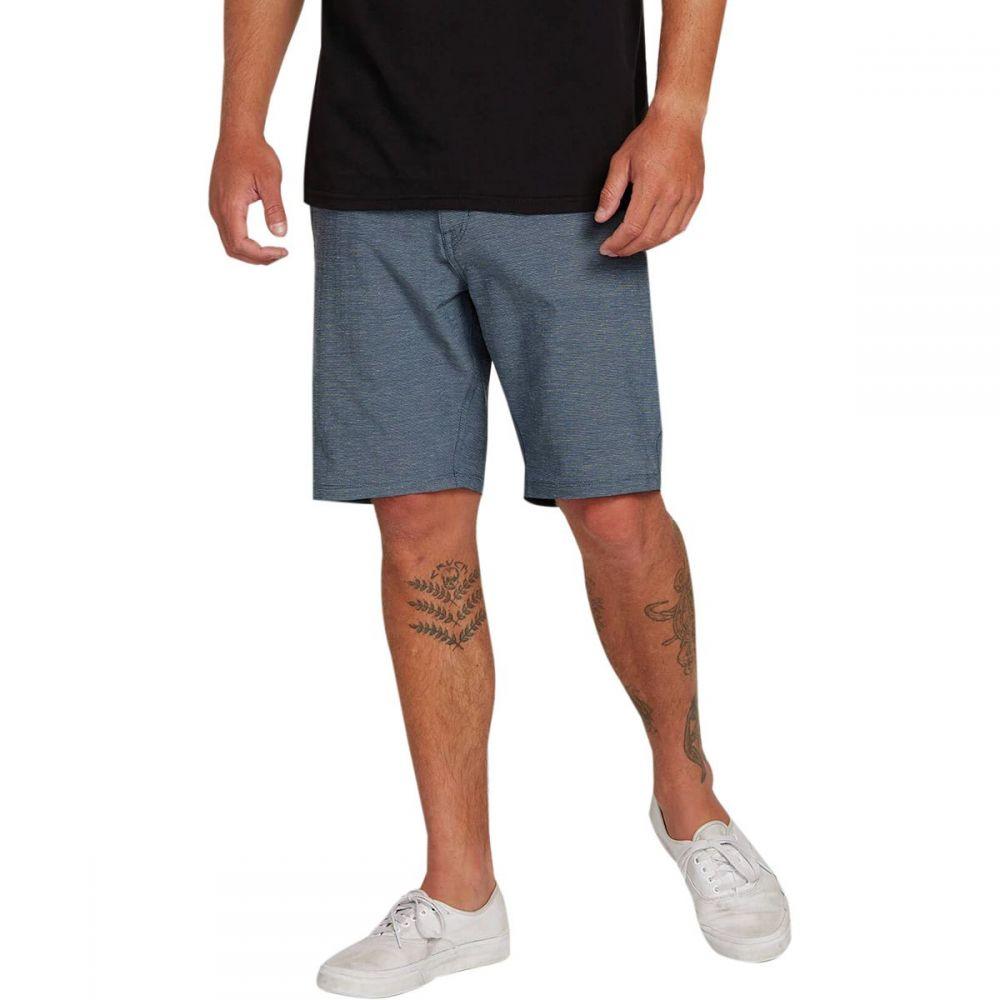 ボルコム Volcom メンズ ボトムス・パンツ ショートパンツ【Frickin SNT Slub 20in Shorts】Tidal Blue