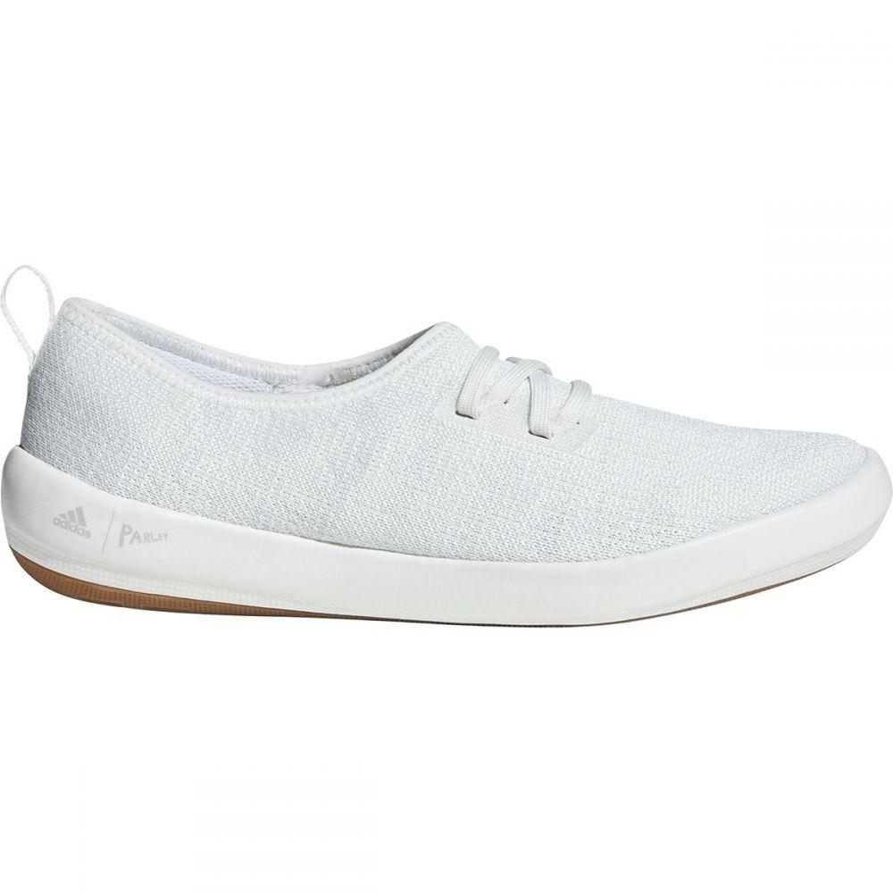 アディダス Adidas Outdoor レディース シューズ・靴 ウォーターシューズ【Terrex CC Boat Sleek Parley Water Shoe】Non-dyed/White/Grey One