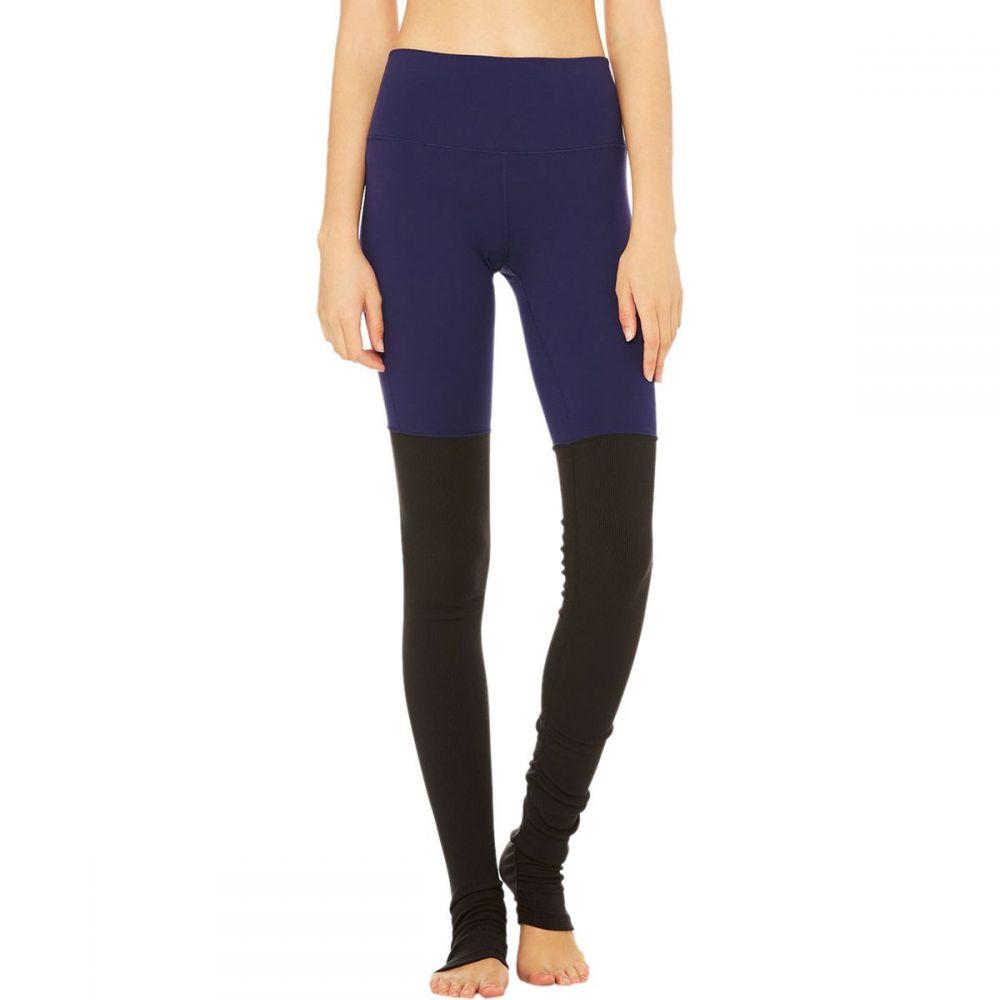 アローヨガ Alo Yoga レディース インナー・下着 スパッツ・レギンス【High - Waist Goddess Legging】Rich Navy/Black