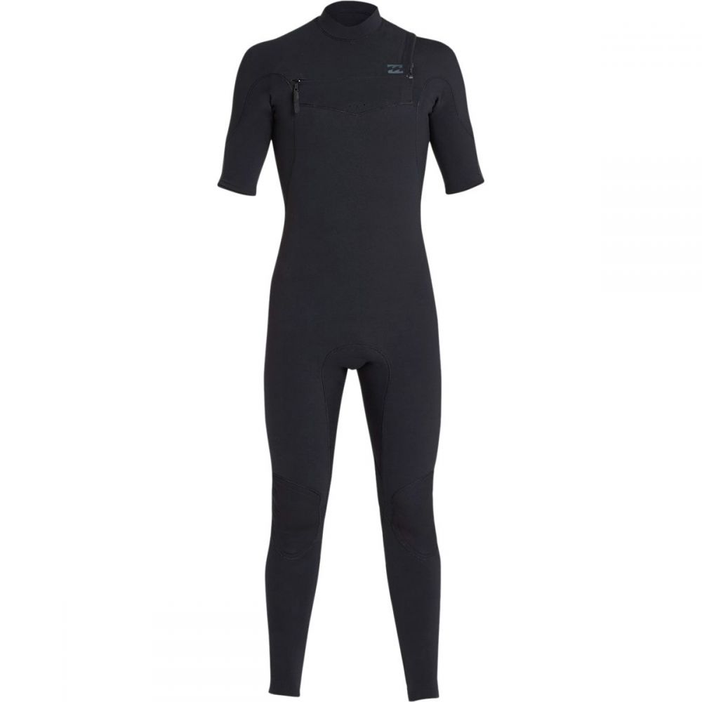 ビラボン Billabong メンズ 水着・ビーチウェア ウェットスーツ【2mm Furnace Carbon Comp Short - Sleeve Chest Zip Full Wetsuits】Black