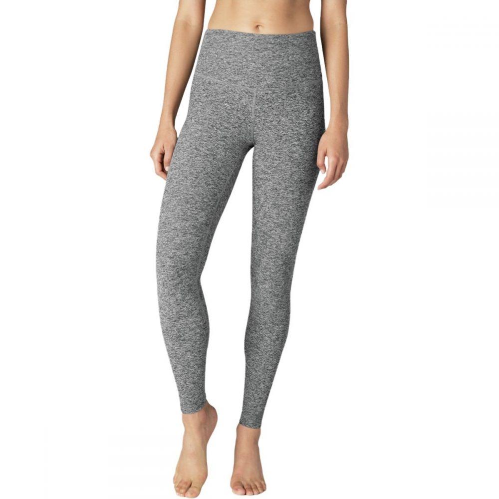 ビヨンドヨガ Beyond Yoga レディース インナー・下着 スパッツ・レギンス【Spacedye Color In High Waisted Long Legging】Black/White