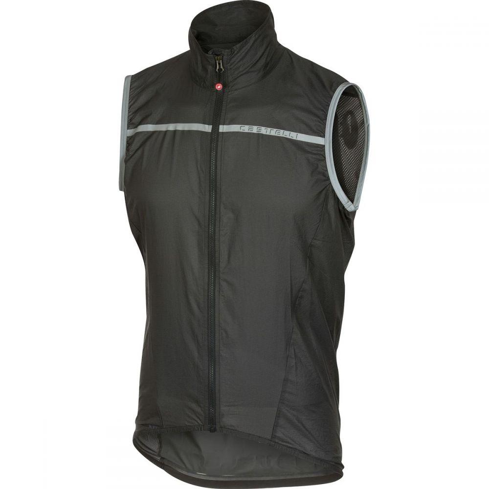 カステリ Castelli メンズ 自転車 トップス【Superleggera Vests】Anthracite
