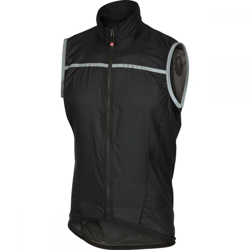 カステリ Castelli メンズ 自転車 トップス【Superleggera Vests】Black