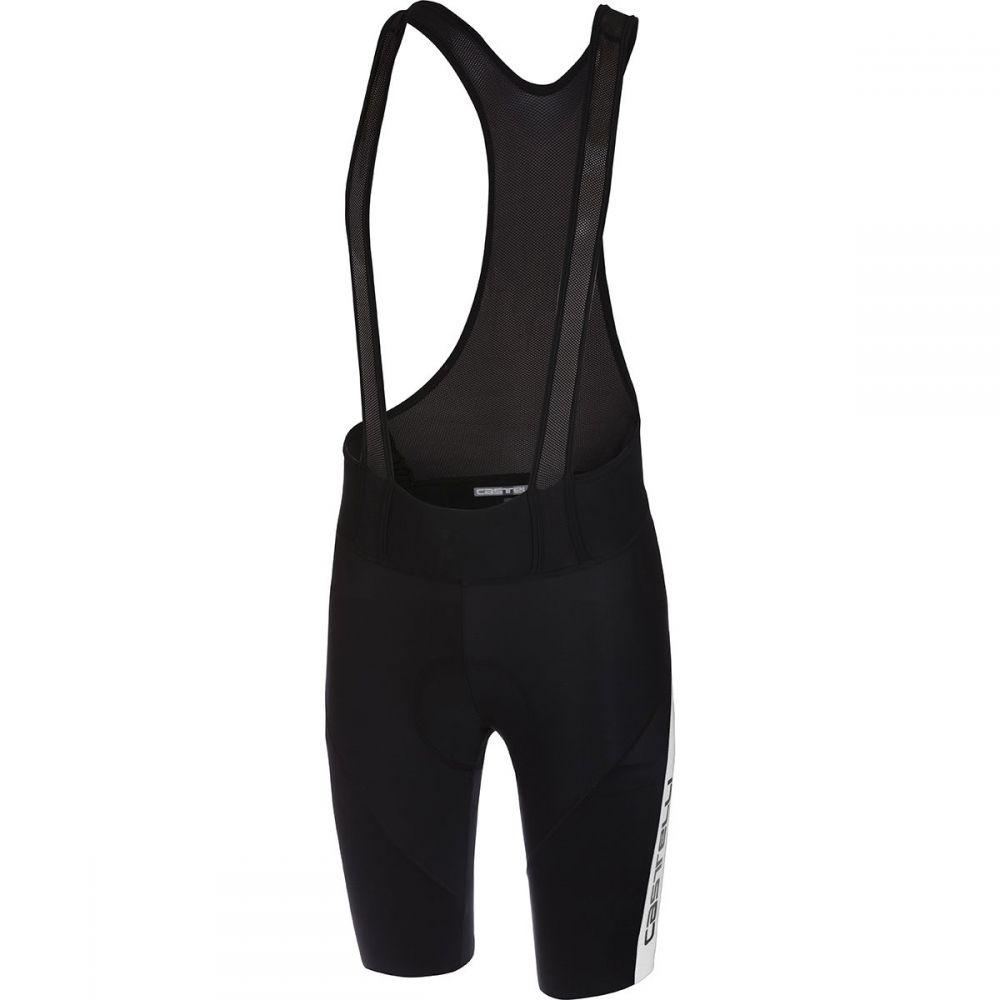 カステリ Castelli メンズ 自転車 ボトムス・パンツ【Velocissimo IV Bib Shorts】Black/White