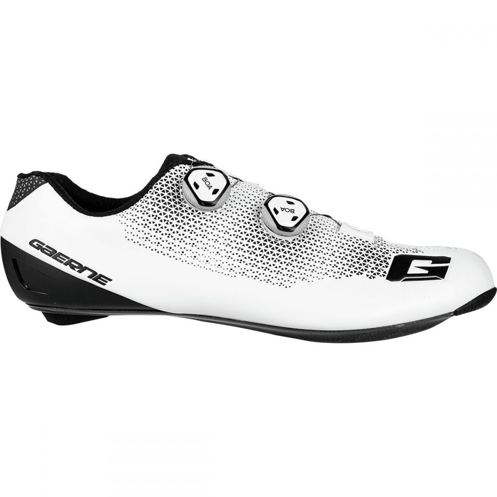 ガエルネ Gaerne メンズ 自転車 シューズ・靴【Carbon G. Chrono Shoes】White