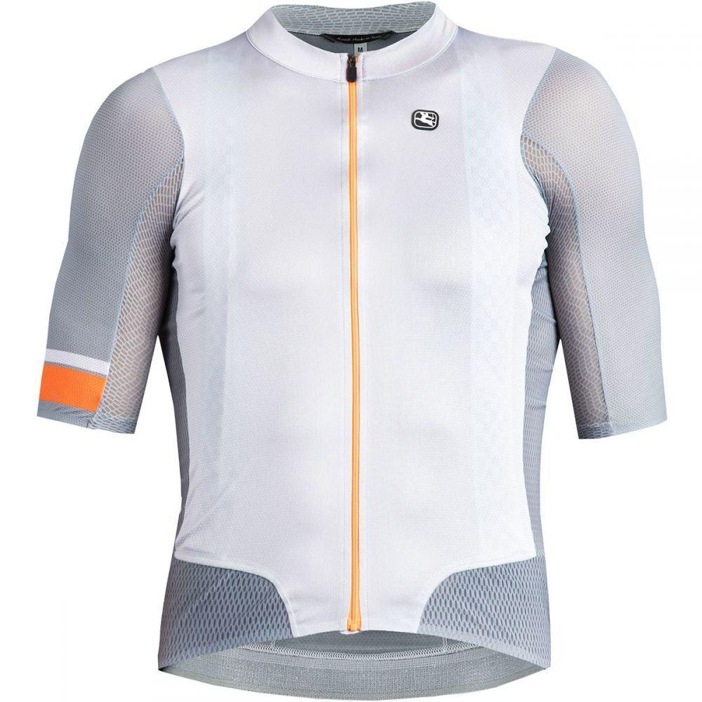ジョルダーノ Giordana メンズ 自転車 トップス【NX - G Air Road Bike Jerseys】Grey/Orange