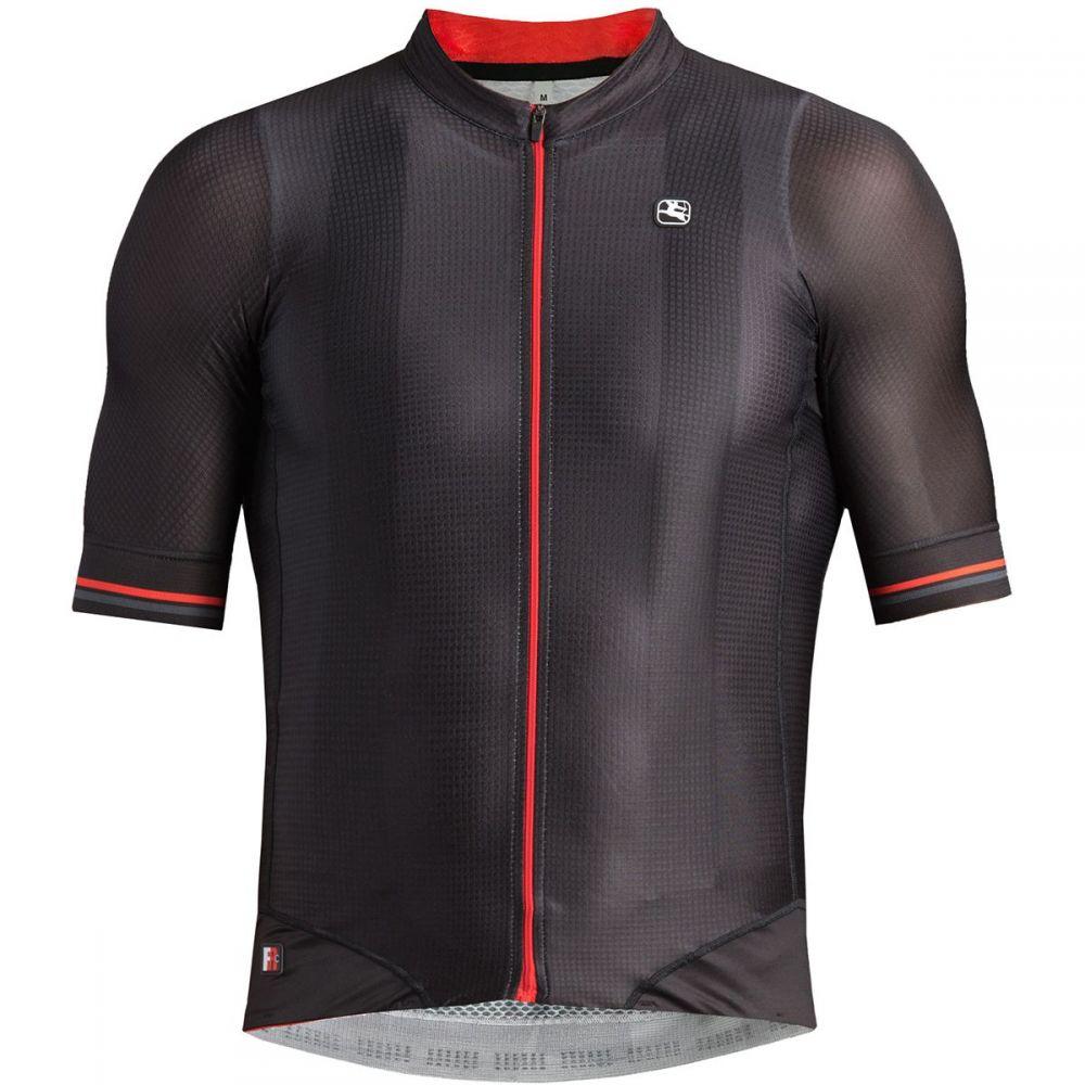 ジョルダーノ Giordana メンズ 自転車 トップス【FR - C Pro Short - Sleeve Jerseys】Black/Red