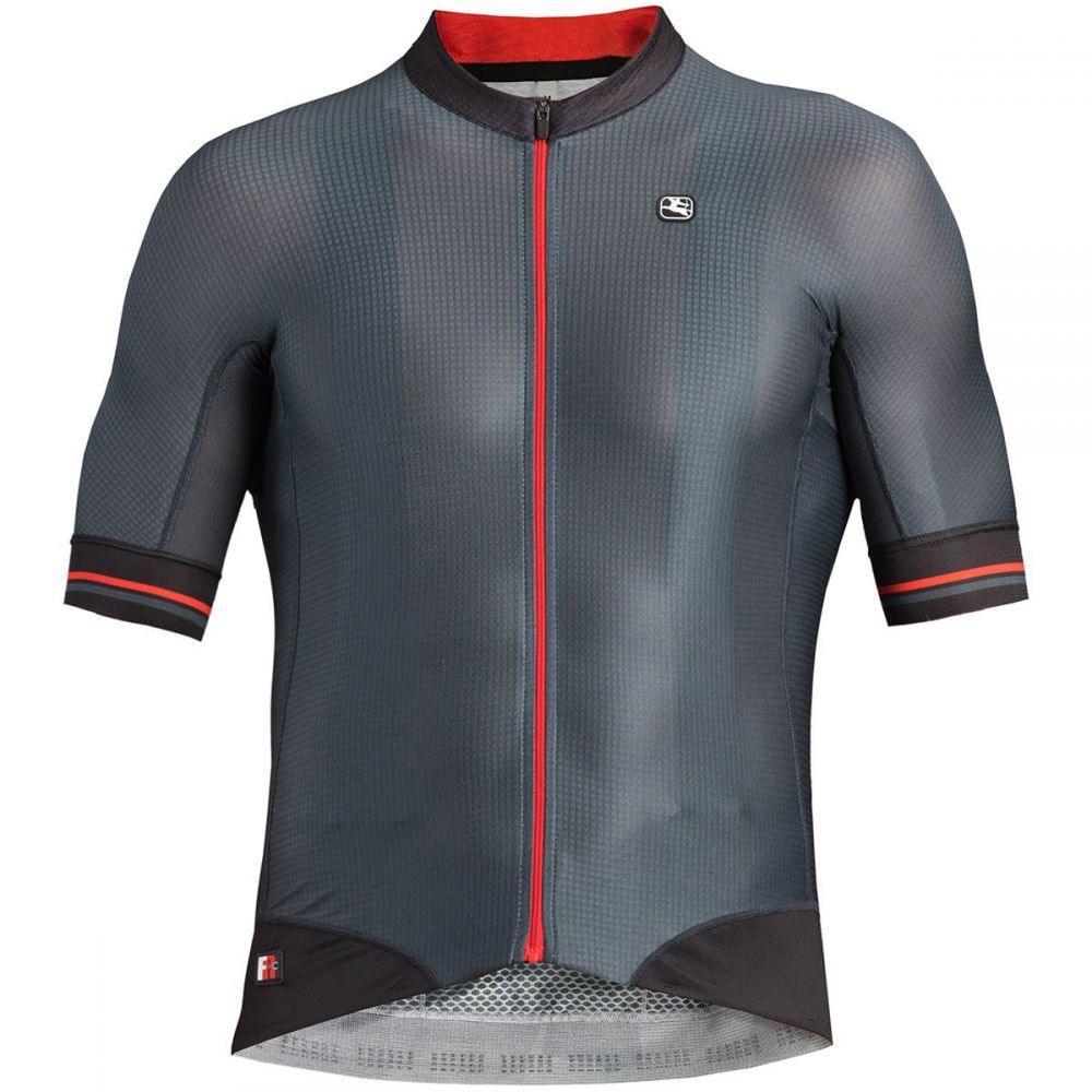 ジョルダーノ Giordana メンズ 自転車 トップス【FR - C Pro Short - Sleeve Jerseys】Grey/Black