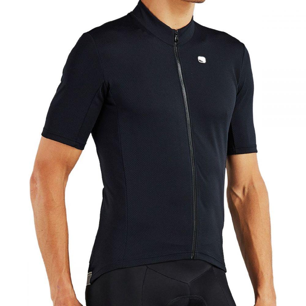 ジョルダーノ Giordana メンズ 自転車 トップス【Fusion Jerseys】Full Black