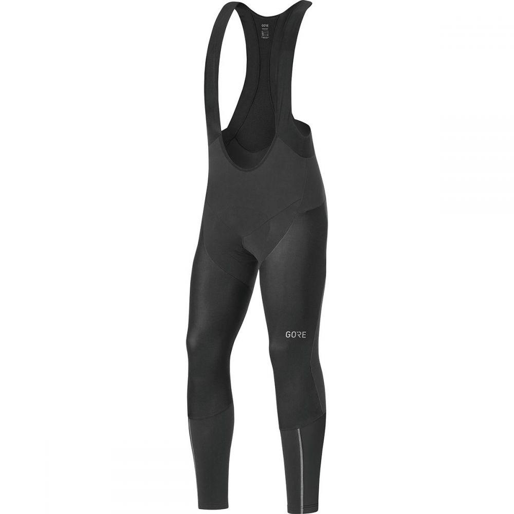 ゴアウェア Gore Wear メンズ 自転車 ボトムス・パンツ【C7 Partial Gore Windstopper Pro Bib Tights+s】Black