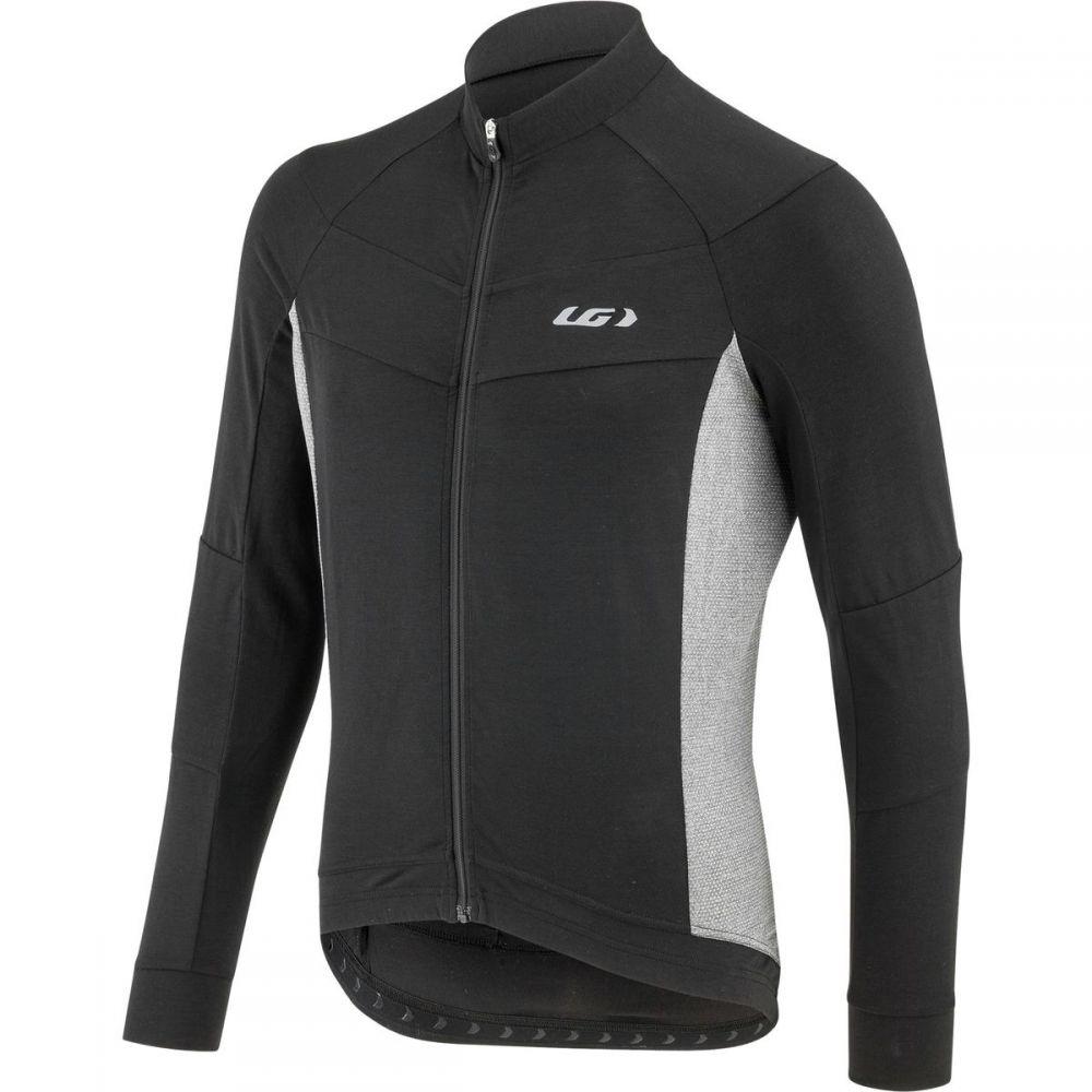 ルイガノ Louis Garneau メンズ 自転車 トップス【Lemmon Long - Sleeve Jerseys】Black/Gray