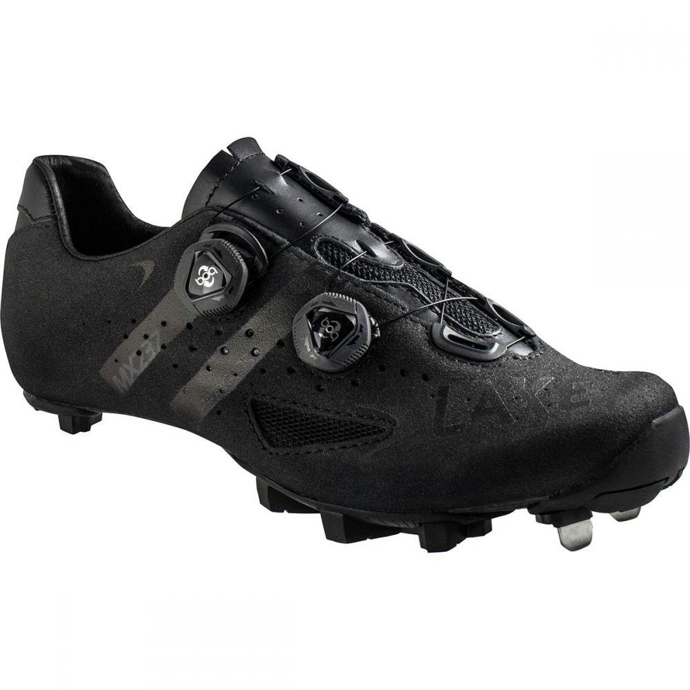 レイク Lake メンズ 自転車 シューズ・靴【MX237 SuperCross Wide Cycling Shoes】Black/Black