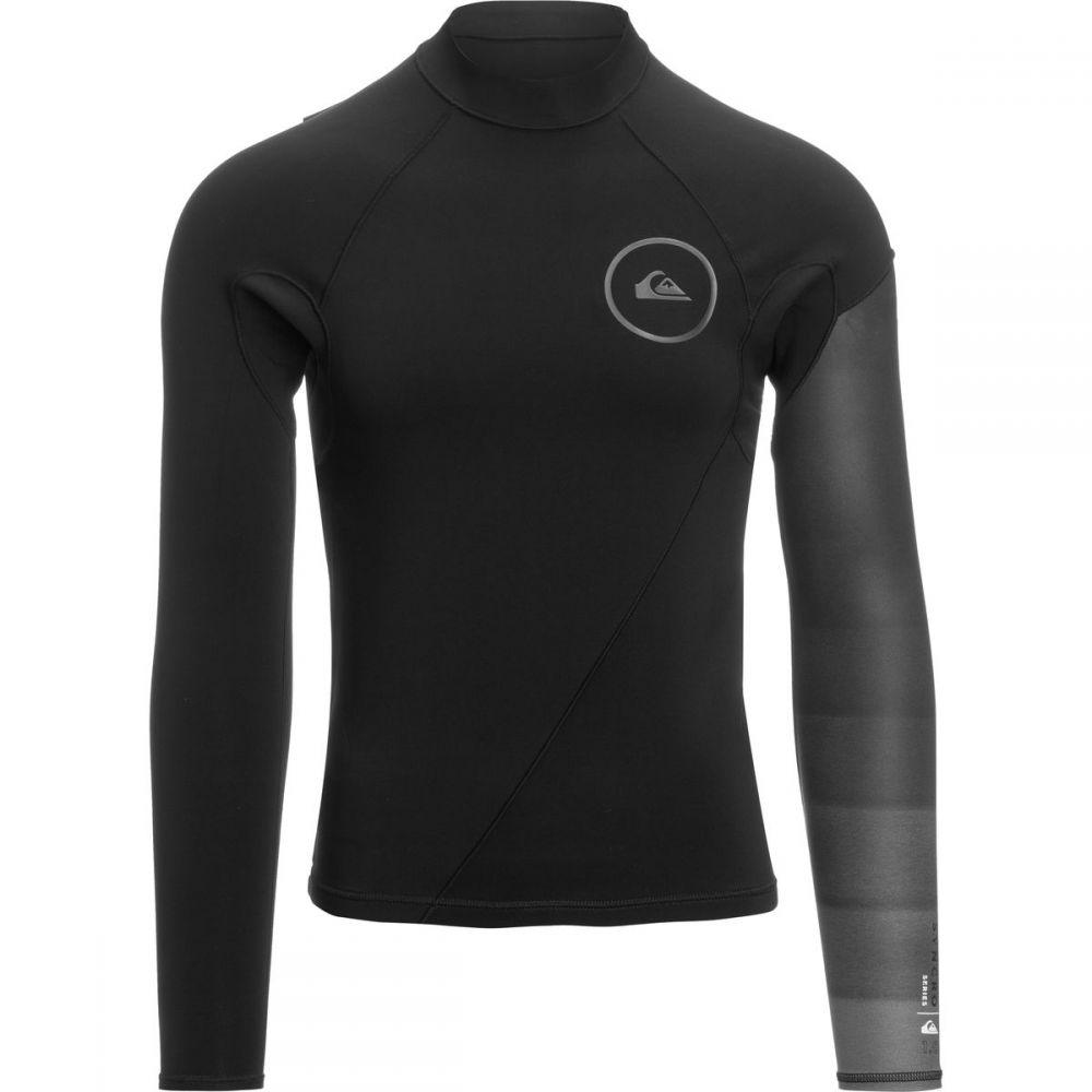 クイックシルバー Quiksilver メンズ 水着・ビーチウェア ウェットスーツ【1.0 Syncro LS Newwav FLT Jackets】Black/Jet Black