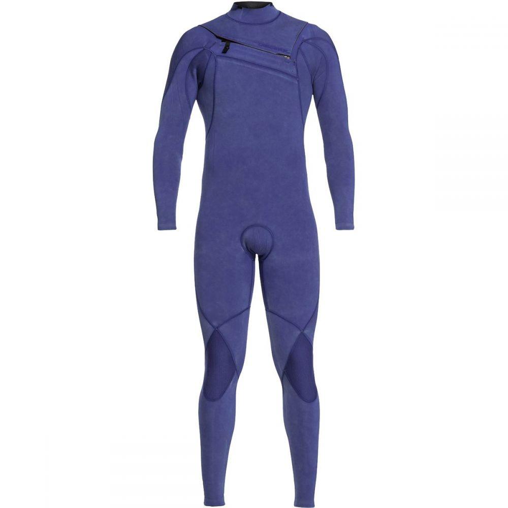 クイックシルバー Quiksilver メンズ 水着・ビーチウェア ウェットスーツ【3/2 Highline Limited Monochrome Chest - Zip Wetsuits】Nite Blue