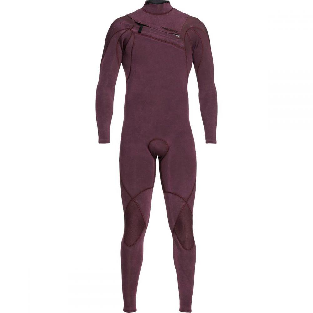 クイックシルバー Quiksilver メンズ 水着・ビーチウェア ウェットスーツ【3/2 Highline Limited Monochrome Chest - Zip Wetsuits】Wine