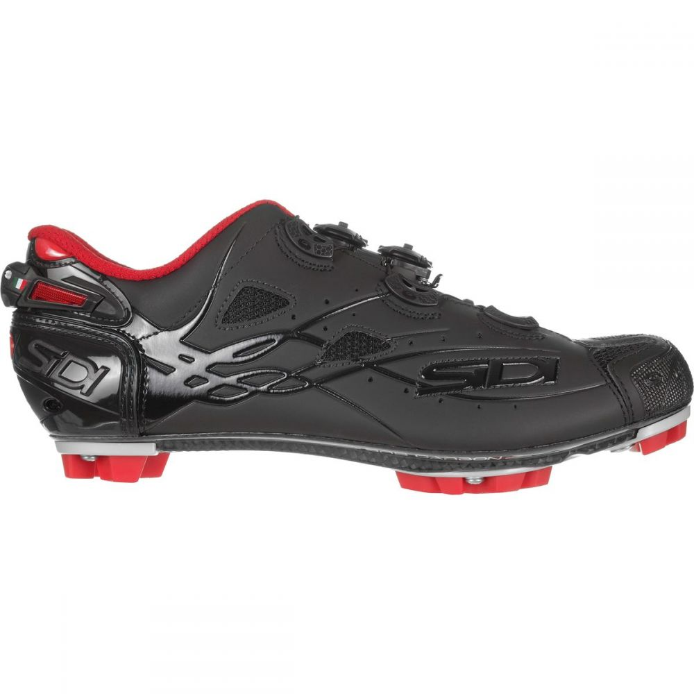 シディー Sidi メンズ 自転車 シューズ・靴【Tiger Cycling Shoes】Black/Matte Black/Red