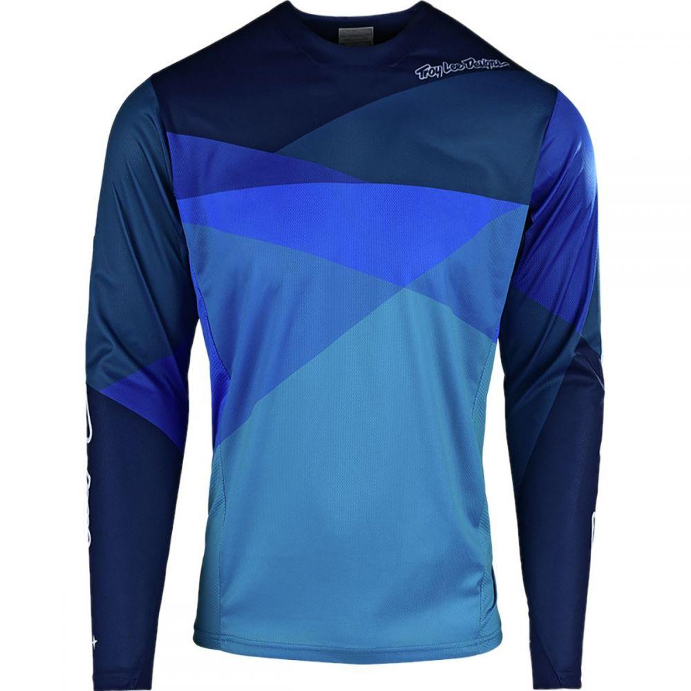 トロイリーデザイン Troy Lee Designs メンズ 自転車 トップス【Sprint Jerseys】Jet Ocean/Blue