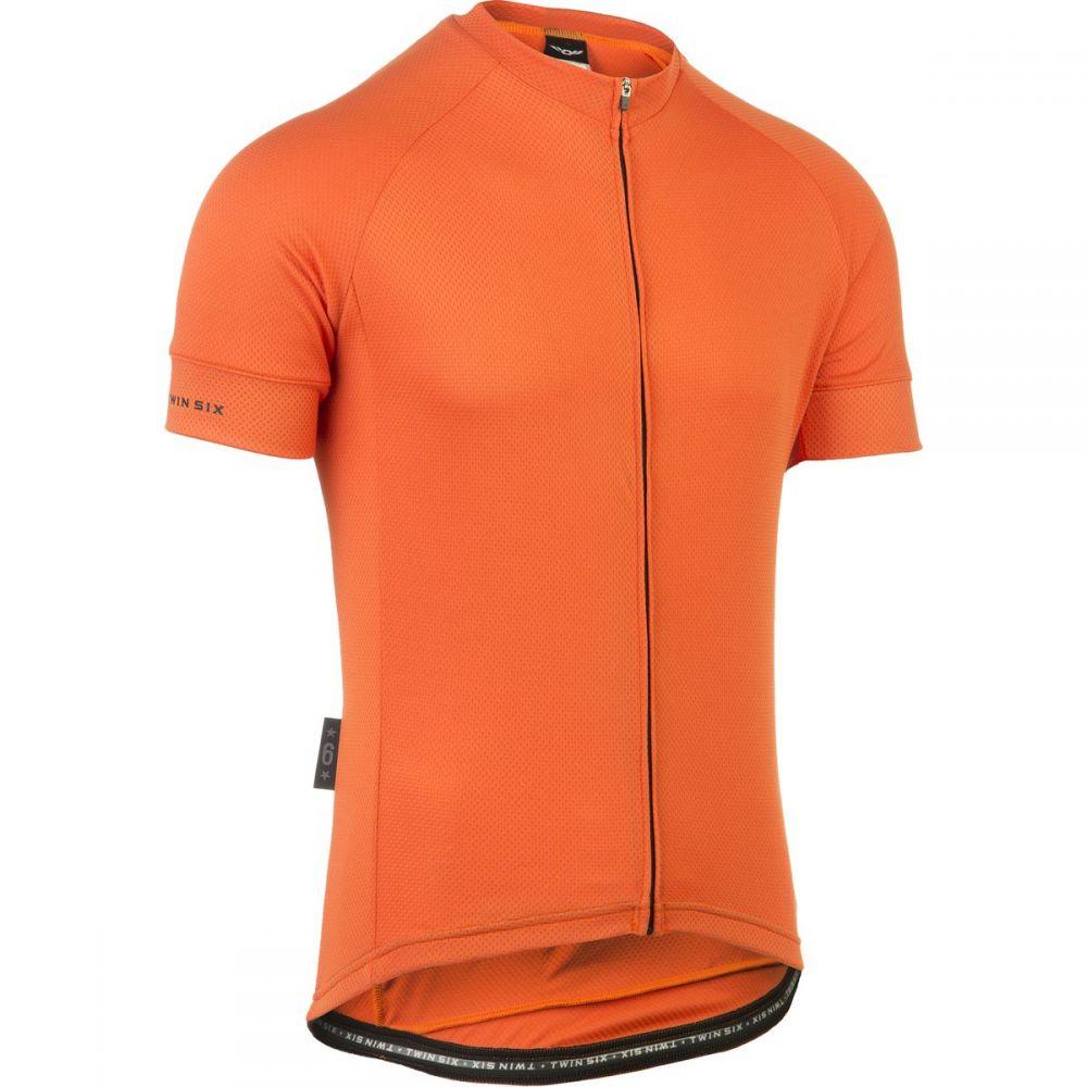 ツインシックス Twin Six メンズ 自転車 トップス【Standard Short - Sleeve Jerseys】Orange
