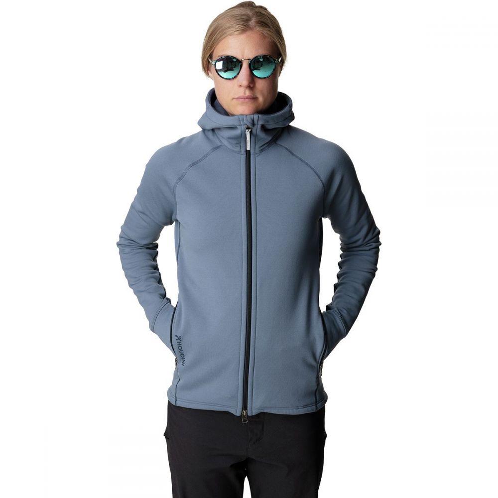 フーディニ Houdini レディース トップス フリース【Power Houdi Fleece Jacket】Sorrow Blue