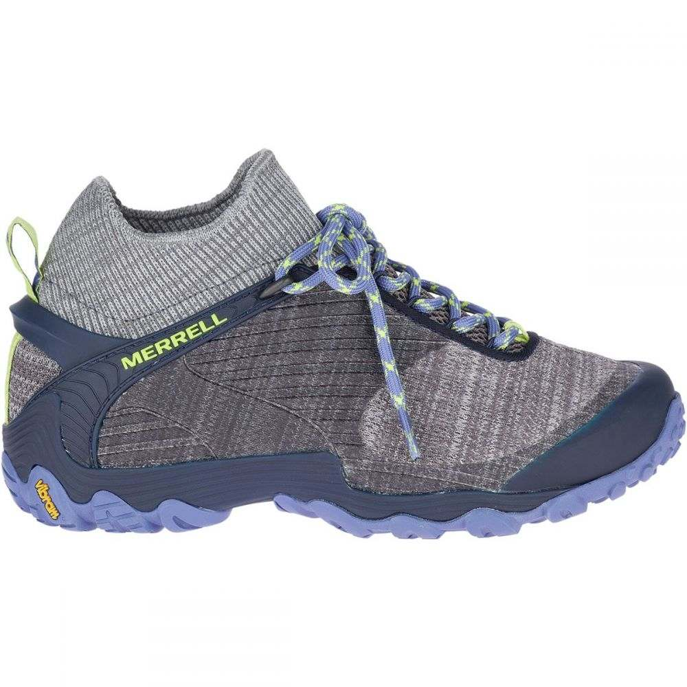 メレル Merrell レディース ハイキング・登山 シューズ・靴【Chameleon 7 Knit Mid Hiking Boot】Charcoal/Navy