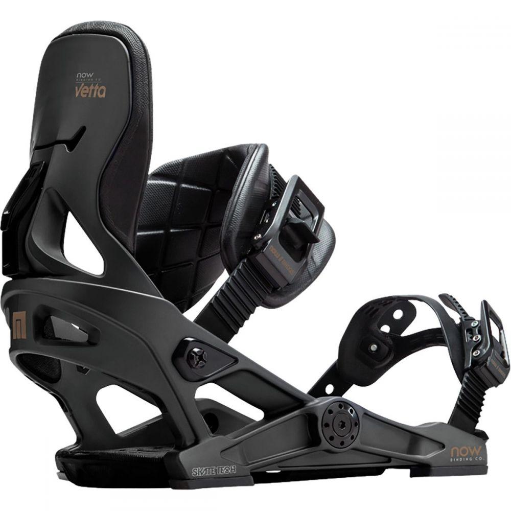 ナウ Now レディース スキー・スノーボード ビンディング【Vetta Snowboard Binding】Black