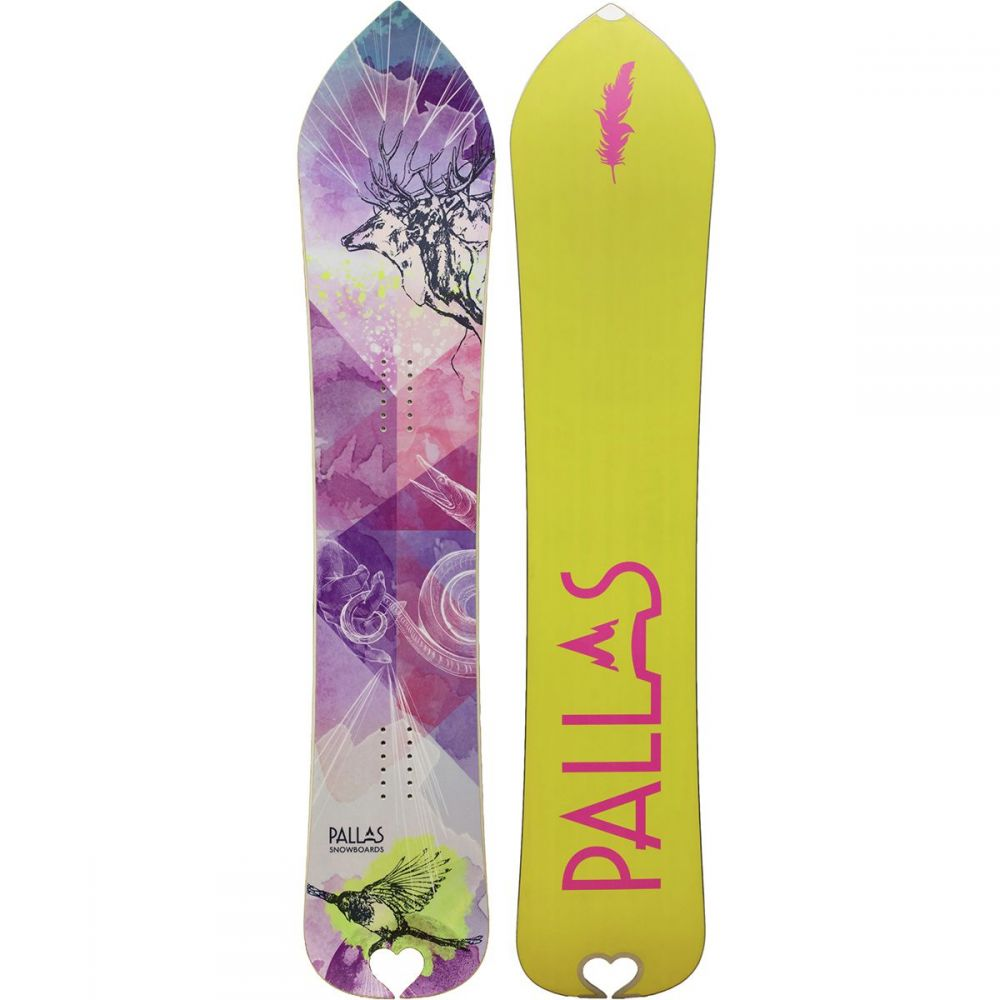 パラス Pallas Snowboards レディース スキー・スノーボード ボード・板【Zeitgeist Snowboard】One Color