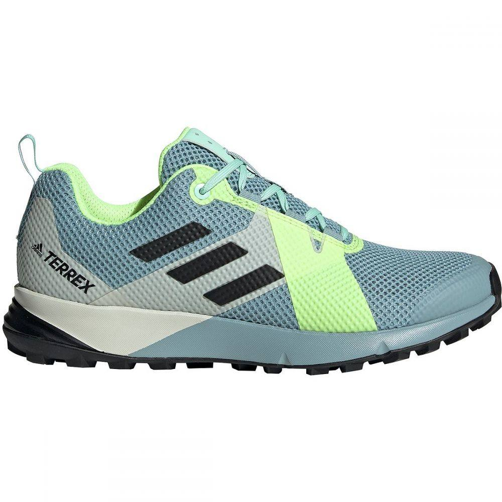 アディダス Adidas Outdoor レディース ランニング・ウォーキング シューズ・靴【Terrex Two Trail Running Shoe】Ash Grey/Black/Hi-res Yellow