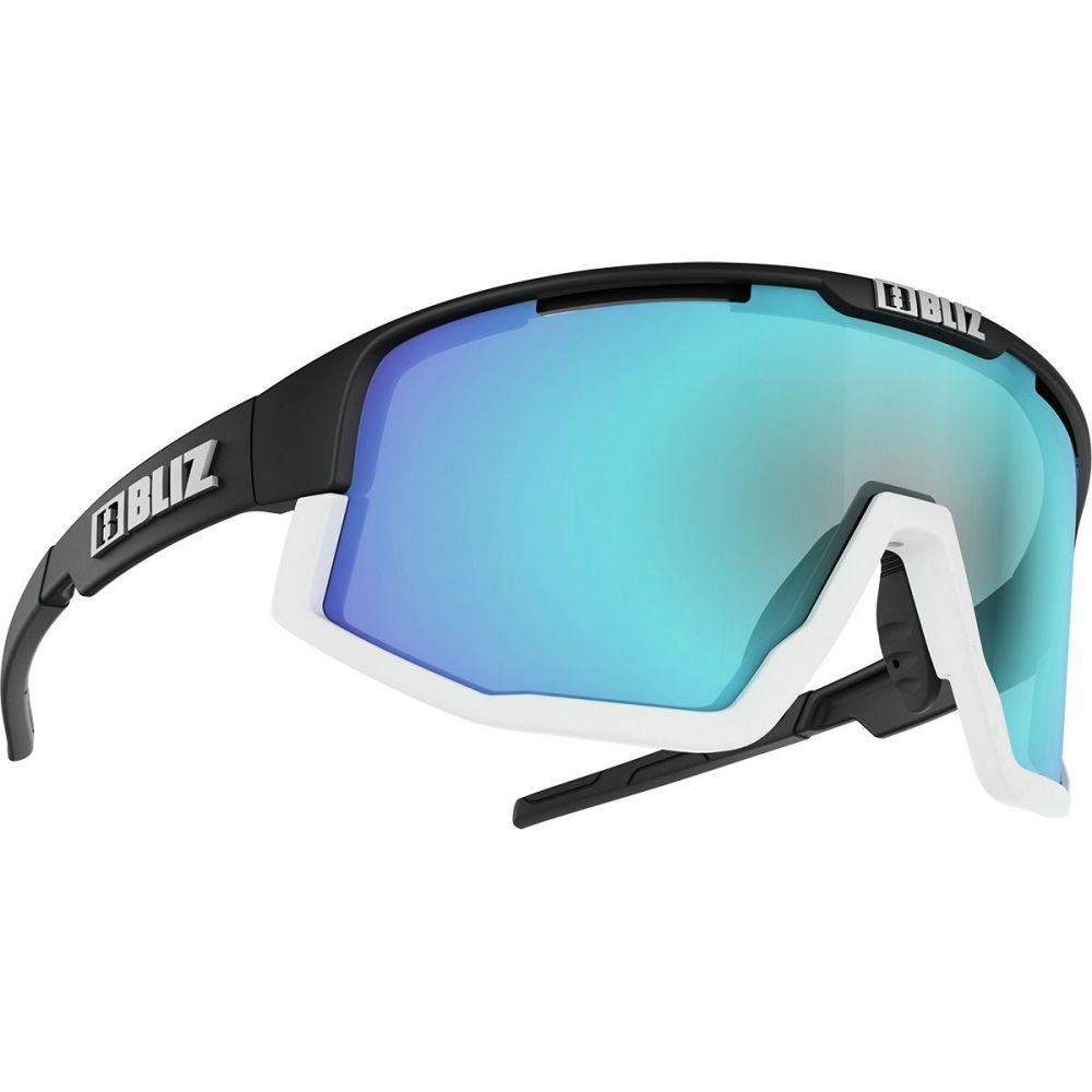 ブリッツ Bliz レディース スポーツサングラス【Fusion Sunglasses】Matte Black/White Jawbone-Smoke/Blue Multi