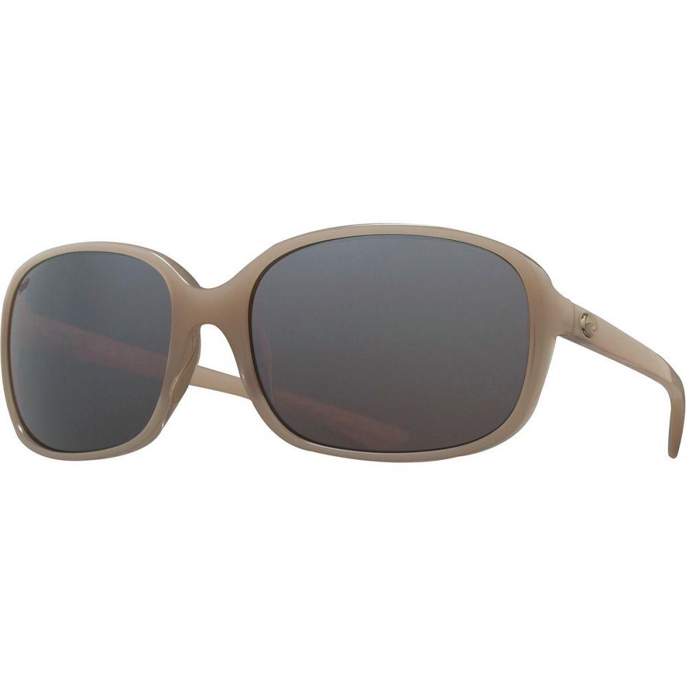 コスタ Costa レディース スポーツサングラス【Riverton Polarized Mirrored 580P Sunglasses】Shiny Sand Crystal Silver Mirror 580p