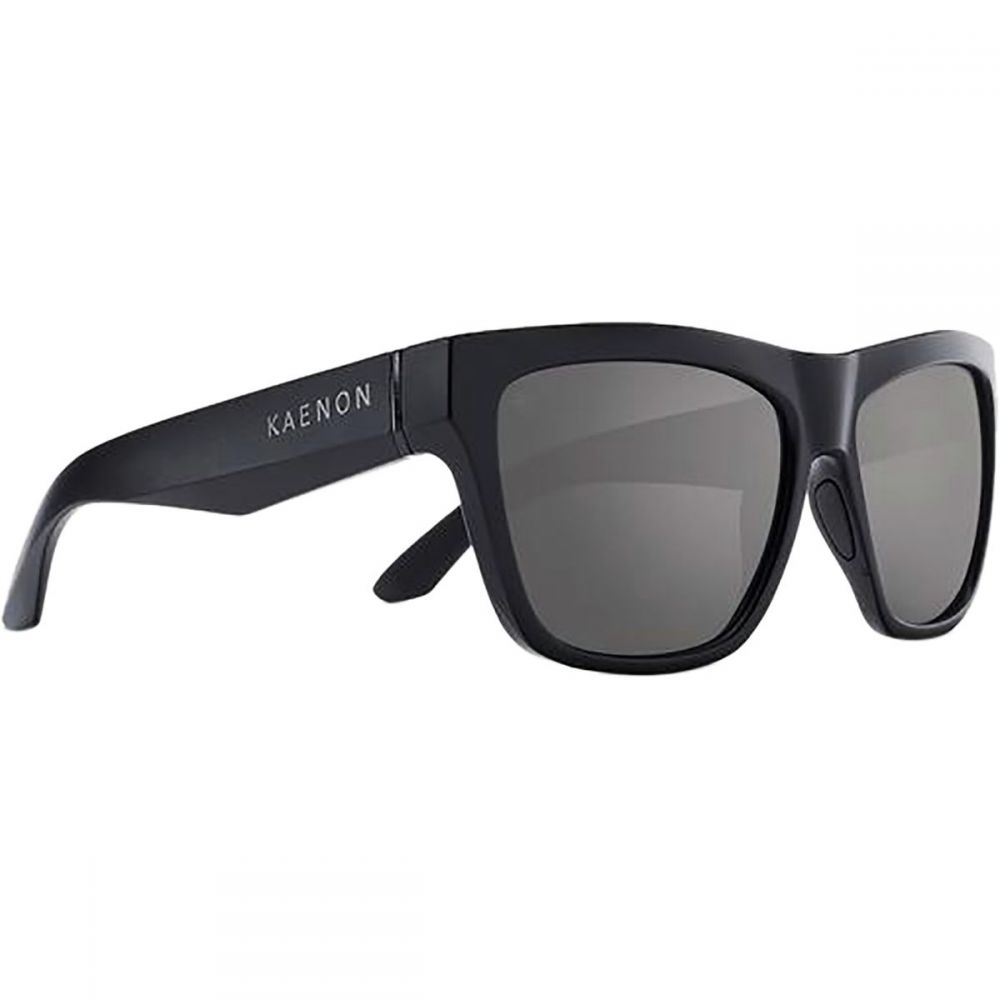 カエノン Kaenon レディース メガネ・サングラス【Ladera Polarized Sunglasses】Matte Black/Grey-Black Mirror
