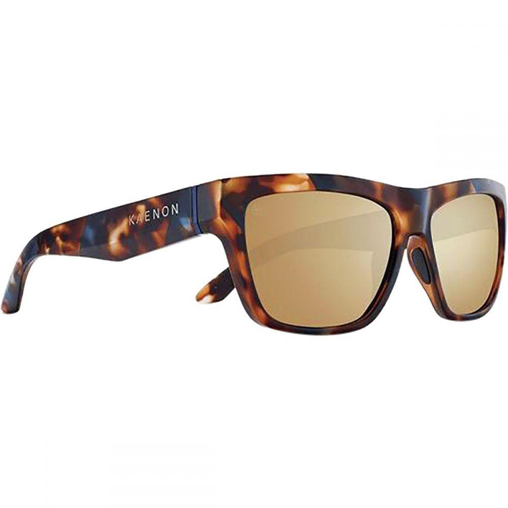 カエノン Kaenon レディース メガネ・サングラス【Ladera Polarized Sunglasses】Oasis/Brown-Gold Mirror