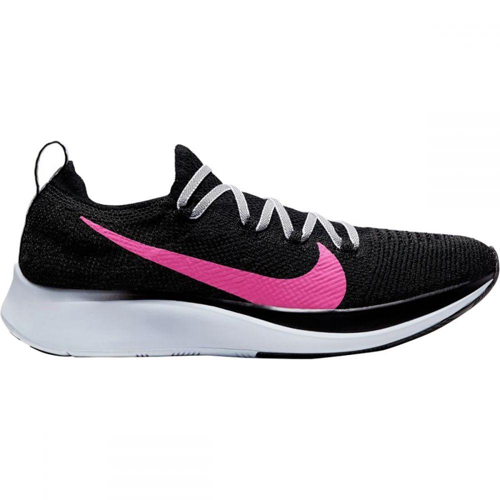 ナイキ Nike レディース ランニング・ウォーキング シューズ・靴【Zoom Fly Flyknit Running Shoe】Black/Hyper Pink-blue Tint
